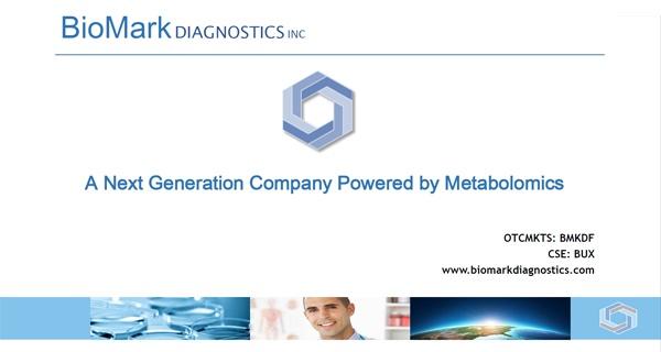 biomark diagnostics investor overview